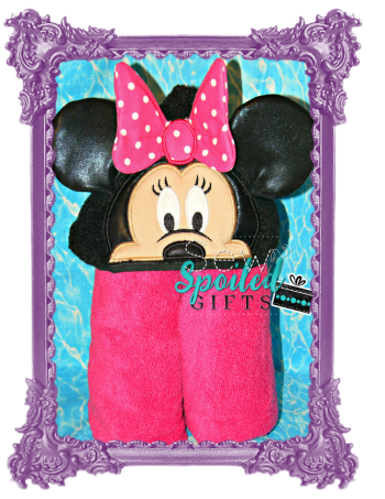 Mrs. Mouse Hooded Towel