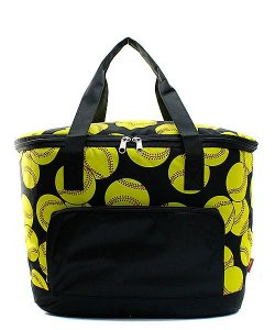 Softball insulated Cooler Shoulder bag Gift