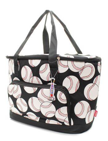 Baseball Print Insulated Cooler Bag Gift